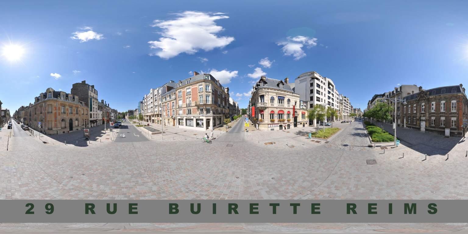 Rue Buirette Reims