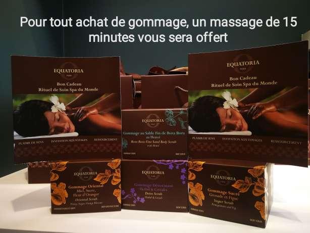 offre massage de 15 minutes